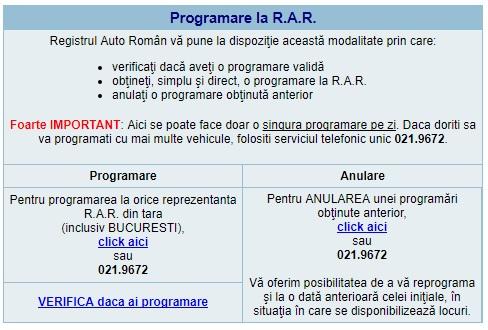Programare R.A.R